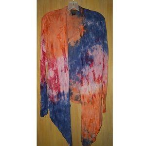 Tie-dye shawl